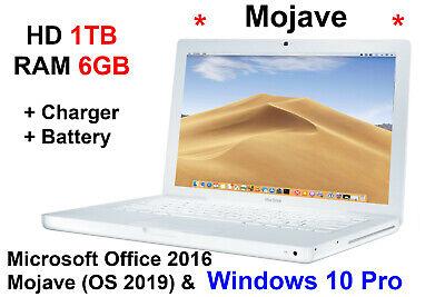 Macbook Pre-RETINA 2GHz 1TB  6GB Office 2016 OSX & WINDOWS 10 Pro