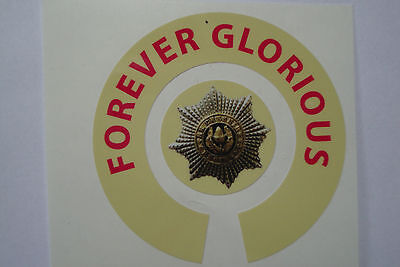 16  CHESHIRE REGIMENT  BOWLS STICKERS FOREVER GLORIOUS 8 FINGER + 8 THUMB