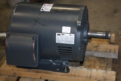 New Dayton 15 Hp Electric Motor 1770 Rpm 254256t