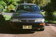 1998 Toyota Corolla Sedan + FREE bluetooth Eastwood Ryde Area Preview
