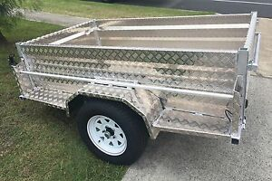 BUY DIRECT FROM FACTORY 8X5 ALUMNIUM BOX TRAILER NO RUST! Redland Area Preview