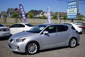 2013 Lexus CT 200h ACCIDENT FREE | ONE OWNER | SUNROOF