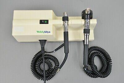 Welch Allyn 767 Series Wall Transformer W Welch Allyn 25020a Otoscope Head