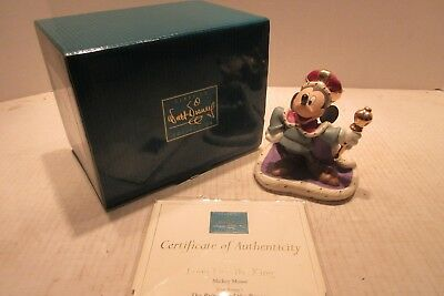 WDCC Mickey Mouse The Prince & The Pauper Long Live The King Walt Disney Classic