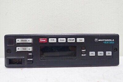 Motorola Astro Rear Control Head