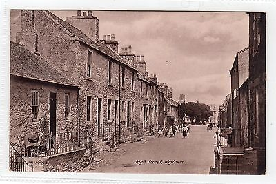 HIGH STREET, WIGTOWN: Wigtownshire postcard (C6265).
