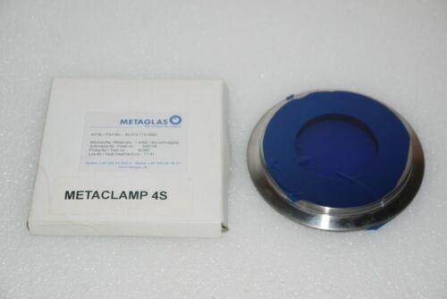"METAGLAS SIGHT GLASS TYPE 80 80.NA 4"" 1.4462 DN100 80.010.119.06B2 SANITARY NEW"