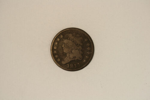 1811 Classic head copper half cent. About good. Nice full date