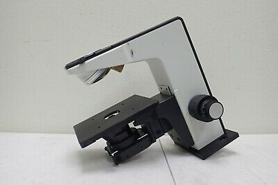 Leitz Wetzlar Germany As 0.90 Microscope Condenser W Stand Stage Nosepiece