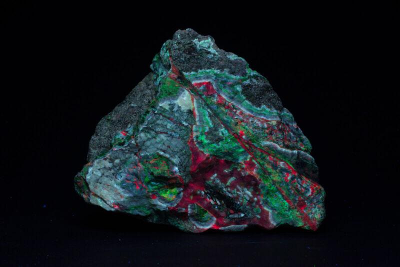 JH10657 Willemite and Calcite, Aroona Mine, Australia