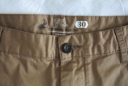 Mens Chino shorts camel colour YD. size 30 Aroona Caloundra Area Preview
