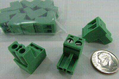 10 Phoenix Contact Terminal Block Plugs Female Sockets .197 5.00mm 180 Inline
