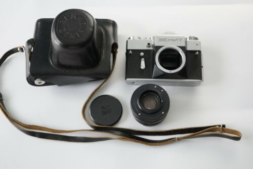 Rare model Zenit TTL with HELIOS-44M lens,
