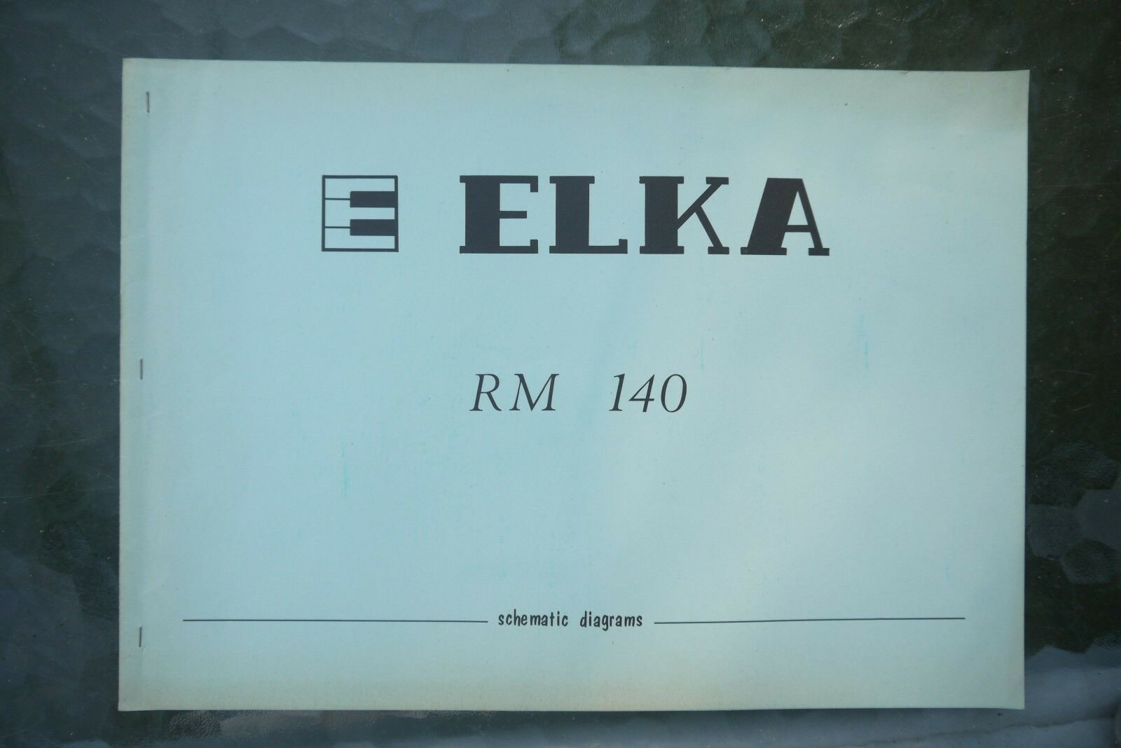 Elka RM 140 Electronic Organs Schematic Diagram