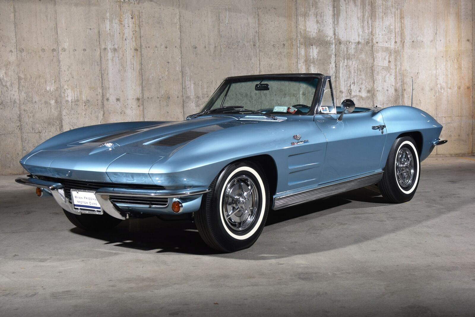 1963 Blue Chevrolet Corvette   | C2 Corvette Photo 3