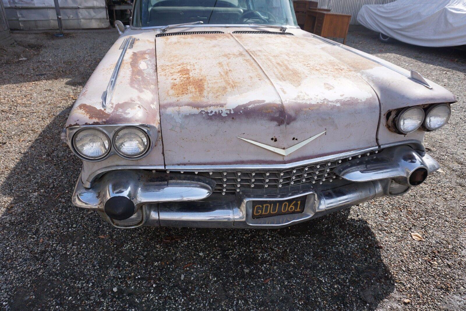 1958 Cadillac Fleetwood Sixty Special 1958 Cadillac Fleetwood Sixty Special