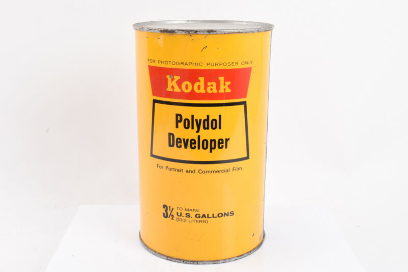 Kodak Polydol Developer for Portrait Commercial Film Makes 3 1/2 Gallons NOS V02