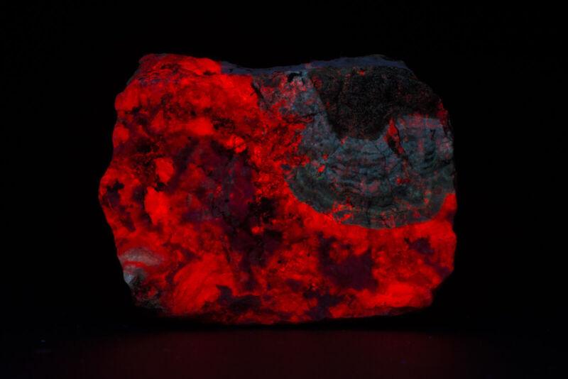 JH13511 Calcite and Willemite, Puttapa Mine, Australia