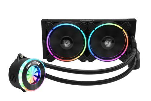 Enermax LIQFUSION RGB 240mm AIO Liquid CPU Cooler - Open Box