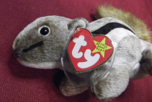 Chipper TY Beanie Baby Collection Retired Rare Errors #4