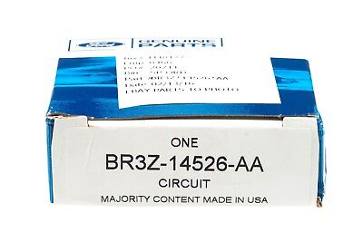 GENUINE NEW OEM Ford pn BR3Z-14526-AA 200a//100a Battery Fuse Terminal w NUTS
