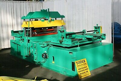 57 Asc 4 Post Cutoff Press With 30 Straight Die Yoder 59952