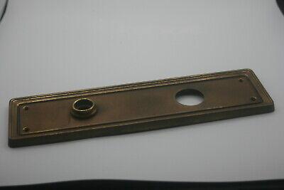 "12x 65mm x 50mm 2.5/"" Inch Brass Cranked Flush Gate Cabinet Shed Door Hinge"