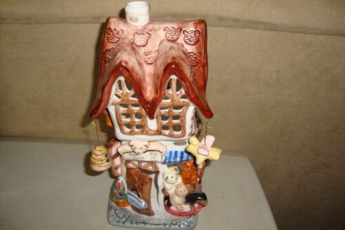 "Teddy Bear Shop Candle Holder Large 11"""