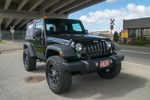 2014 Jeep Wrangler LIFTED, AFTERMARKET OFF ROAD PACKAGE!