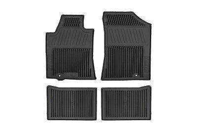 2009-2014 Nissan Maxima Black All Season Rubber Front & Rear Floor Mats OEM NEW Nissan Maxima Rubber