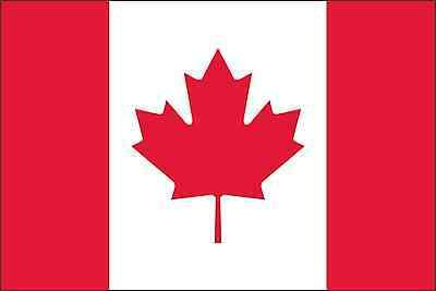 Canada Flag Vinyl Decal / Sticker ** 5 Sizes **