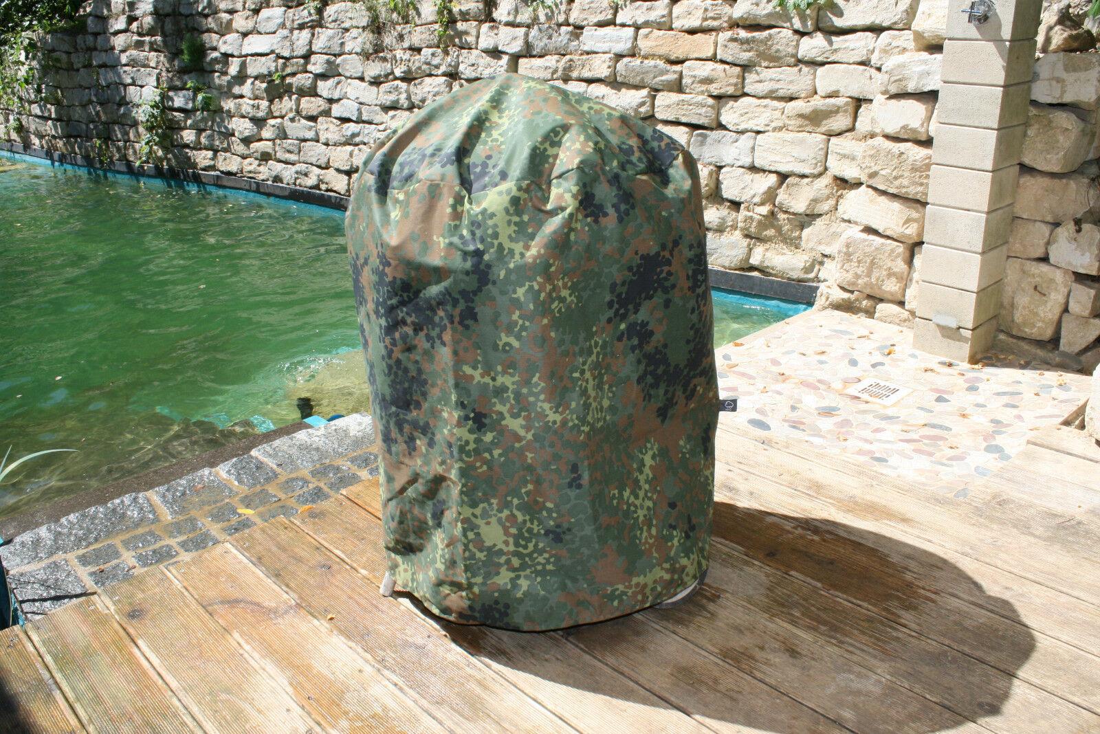 Grillabdeckung für alle Kugelgrills bis 57cm  Ø z.B. für Weber 57, camouflage