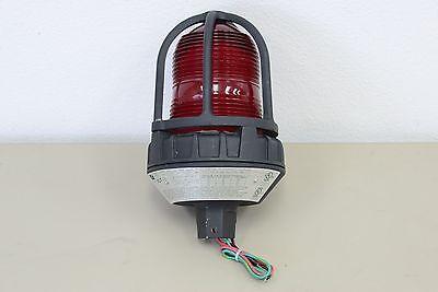 Federal Signal 191xl 24v Hazardous Warning Light Led Red H33