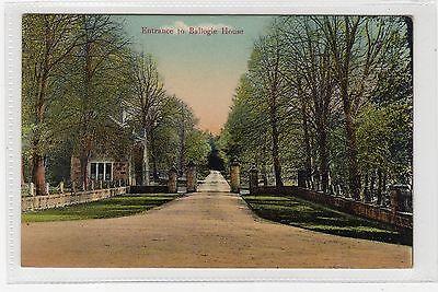 ENTRANCE TO BALLOGIE HOUSE: Aberdeenshire postcard (C25063)