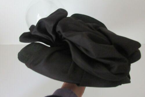 Vintage  Replica de Parisienne ~ Pollyanna Shop Black Hat ~ Cincinnati
