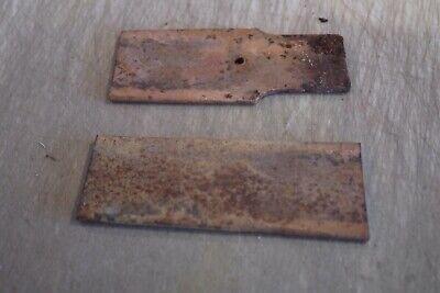 5160 Spring Tool Steel Knife Blade Flat Bar  2 Pieces  7 12 X 3 X 14