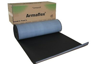 40 Mm 6m2 Roll Armaflex Closed Cell Foam Insulation Self Adhesive Car Sound