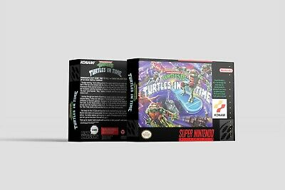 Teenage Mutant Ninja Turtles: Turtles in Time [SNES] - Teenager Ninja Ninja Turtles