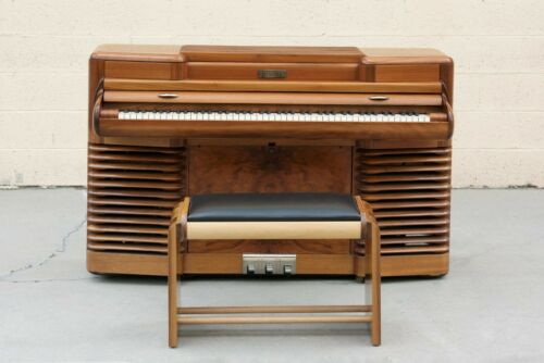"""1939 Original Story & Clark """"Storytone"""" Electric Piano and Bench"""
