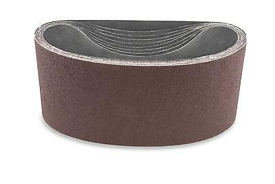 4 X 21 Inch 150 Grit Multipurpose Sanding Belts, 9 Pack