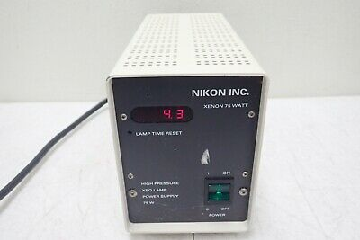 Lep Nikon Xenon 75 Watt High Pressure Xbo Lamp Power Supply Illuminator