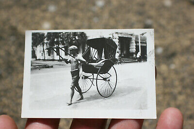 Vintage Oriental Asian Chinese Small Photograph