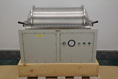 New Meivac Inc. Vacuum Subsystem Assembly Vacuum Chamber 39 X 18 X 14.5 17302