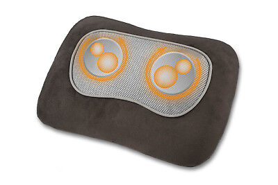Shiatsu-Massagenkissen MC 840 mit 4 rotierenden Massageköpfen % Wärmefunktion