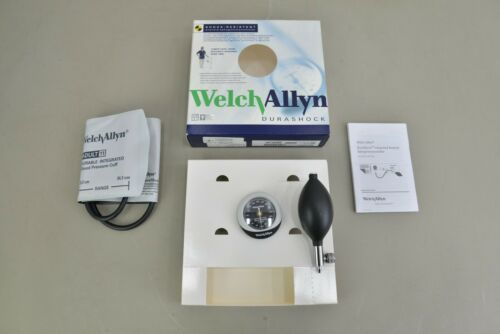 New Welch Allyn DS45-11 Durashock Adult Cuff Aneroid Sphygmomanometer (21789)