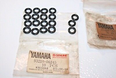 19 OEM NEW nos Yamaha motorcycle cylinder head O-RINGS 93210-06245 TX500 XS500