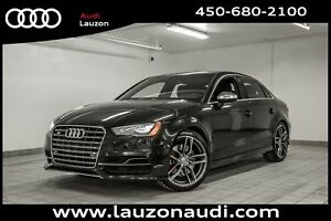 2016 Audi S3 2.0T TECHNIK CAM NAV LED 19
