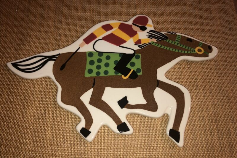 Coton Colors Happy Everything Big Horse Race Attachment Retired & Rare!