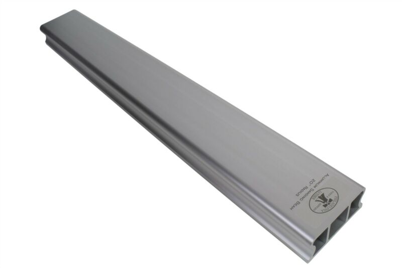 "Aluminum Radius Sanding Beam 20.5"" (520mm) length - choose your radius"