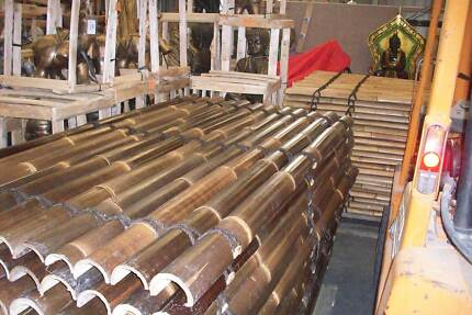 Bamboo Fence Panels 1.8 HIGH X 1MT WIDE  ( DANDENONG VIC.).